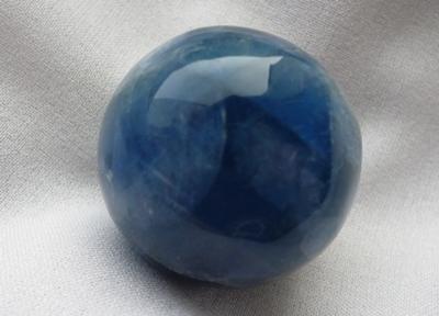 Fluorit blau