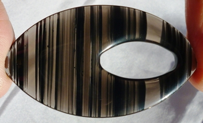 Obsidian - Lamellenobsidian